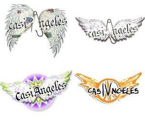 casi angeles, teen angels, and simboli image