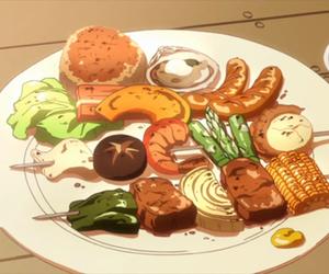 bbq and anime food image