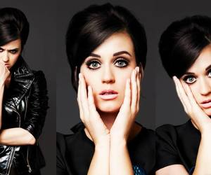 beauty, katy perry, and noir image