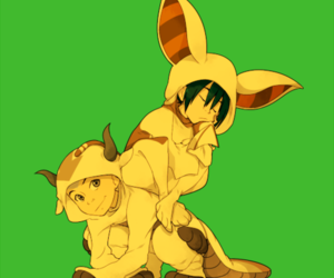 toph, avatar the last airbender, and aang image