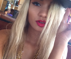 blonde, style, and pia mia image