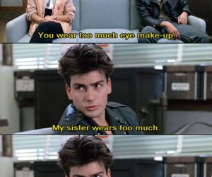 charlie sheen, quote, and ferris bueller's day off image