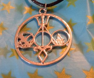 harry potter, jewelry, and necklace image