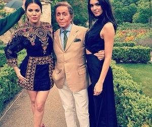 kendall jenner, khloe kardashian, and Valentino image