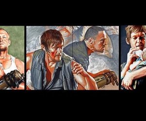 hermanos, the walking dead, and twd image