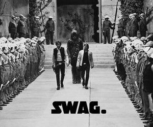 star wars, swag, and han solo image