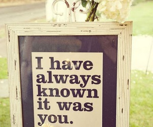 love, quote, and wedding image