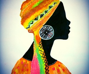 africa, beautiful, and tribal image