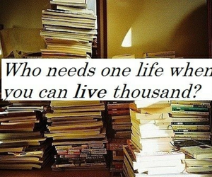 books, lives, and love image