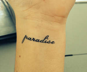 girl, paradise, and simple image