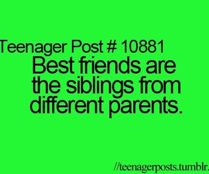 best friend, parents, and teenager post image