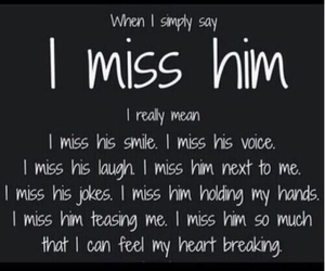 him, miss, and quotes image