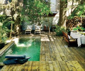 pool and garden image