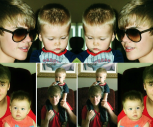 kid, Sweetie, and justin bieber image