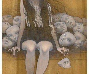 mask, audrey kawasaki, and face image