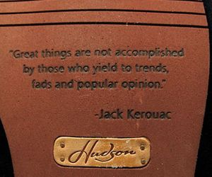 quote and Jack Kerouac image