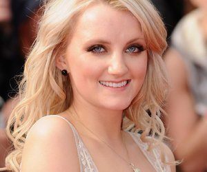 evanna lynch, harry potter, and london premiere image