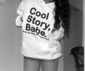 girl and cool story bro image