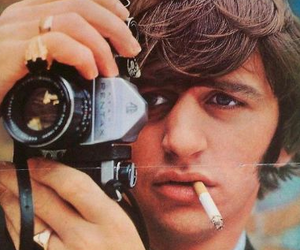 beatles, handsome, and ringo starr image