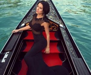 dress, black, and venice image