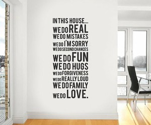 house, quote, and fun image
