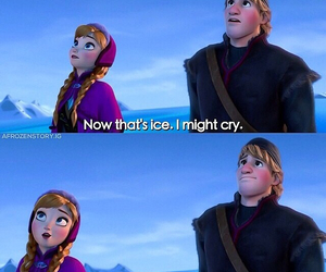 anna, frozen, and kristoff image