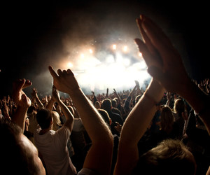 concert, festival, and crowd image