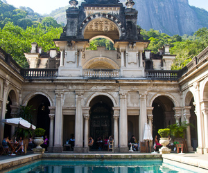 pool, travel, and brazil image