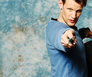 doctor who, matt smith, and sonic screwdriver image