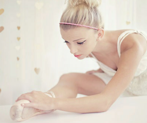 ballerina, ballet, and student image