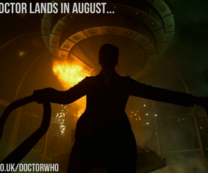 doctor who, August, and tardis image