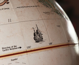 travel, globe, and map image
