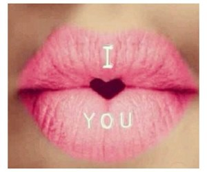 heart, pink, and lip image