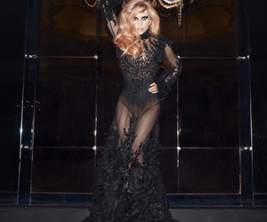 dress, fashion, and Lady gaga image