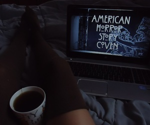 american horror story, tea, and coven image