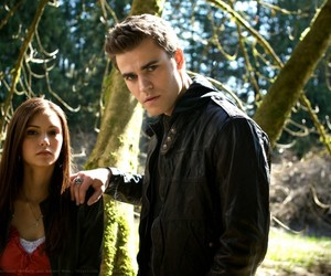 elena, the vampire diaries, and episode 1 image