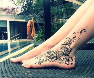 beautiful, fashion, and henna image