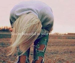 beautiful, quote, and blond image