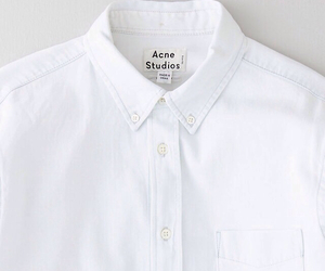 white, shirt, and style image