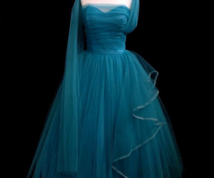1950s, dress, and tulle image