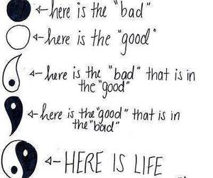 life, good, and bad image