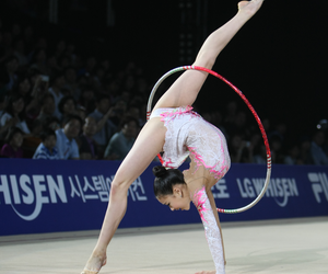 gymnast, gymnastics, and rhythmic image