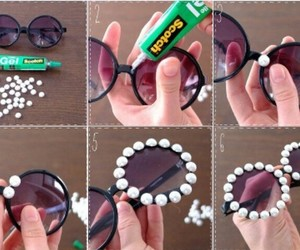 cool, glasses, and diy image