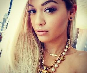 rita ora, blonde, and singer image