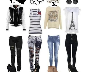 cute outfits, high school outfits, and back to school image