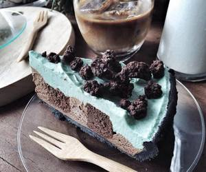 blue, dessert, and mint image