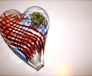 weed, heart, and pipe image