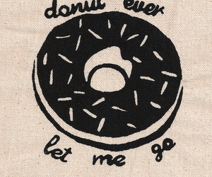 donuts, quote, and text image