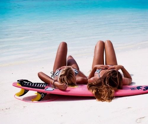 beach, Hot, and bestfriends image