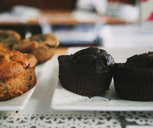 chocolate and muffin image